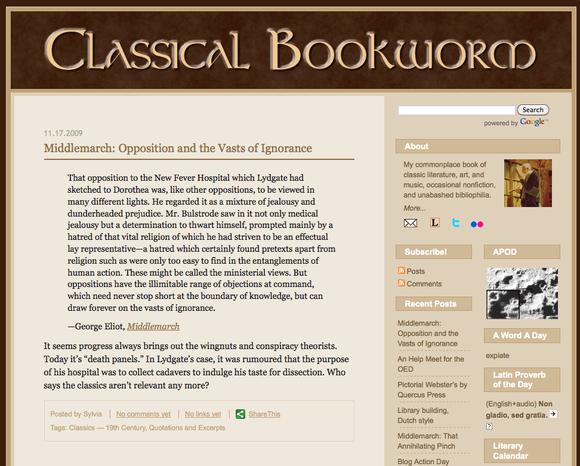 Classical Bookworm